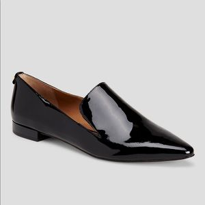 Shoes - Calvin Klein Elin Patent Leather Loafers